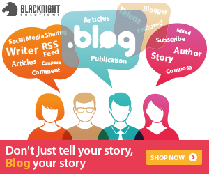 Don't just  tell your story, BLOG your story!
